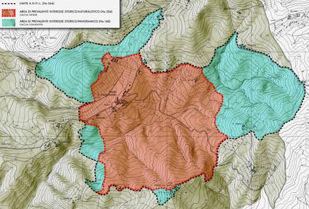 Tavarnelle Val di Pesa, Piano dell'area protetta di Badia a Passignano
