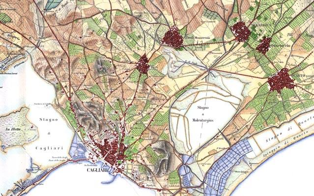 Ricostruzioni cartografiche: lo stato del territorio a fine ottocento