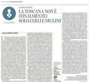Il nuovo piano di indirizzo territoriale della Regione Toscana