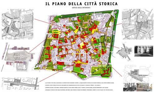 Pistoia, Il ripristino dei luoghi pubblici della città storica