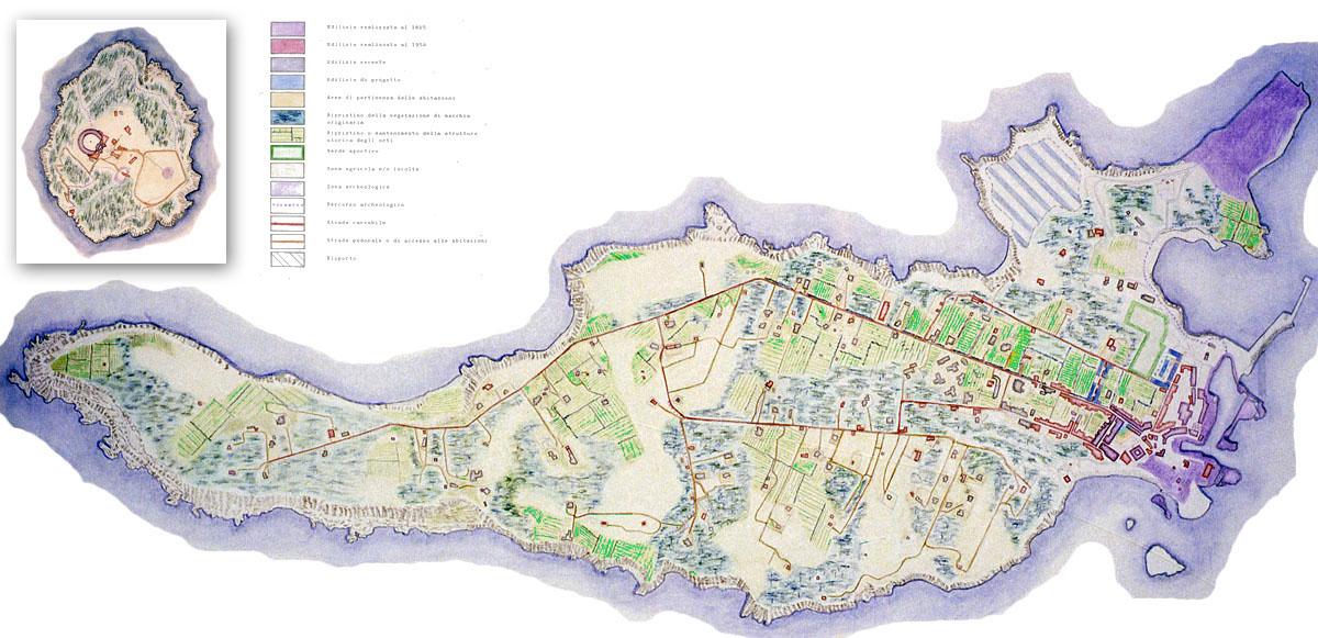 Ventotene, Piano regolatore comunale
